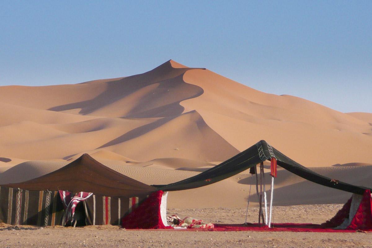 Berber Tent In The Sahara  U2022 Interactive Sound Player