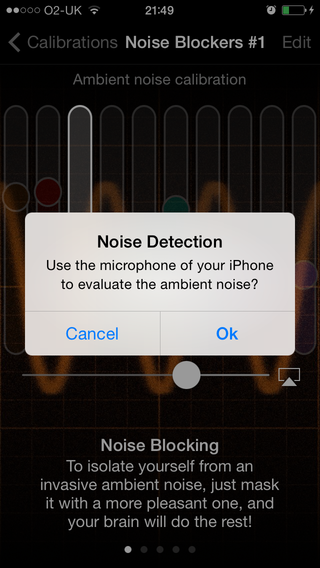 The myNoise iOS App - User Guide