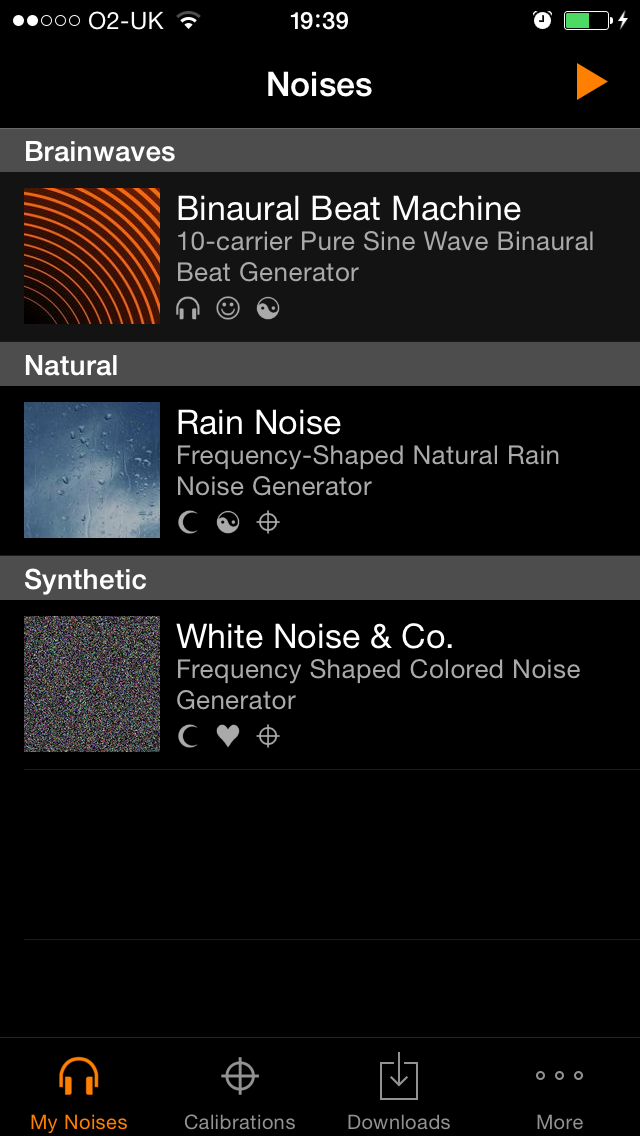 The myNoise iOS App - The Ultimate Noise Machine